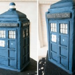 Doctor Who TARDIS Wedding Cake