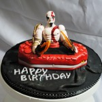 God of War Birthday Cake [pic]