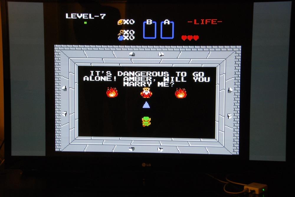 Legend of Zelda Marriage Propsal