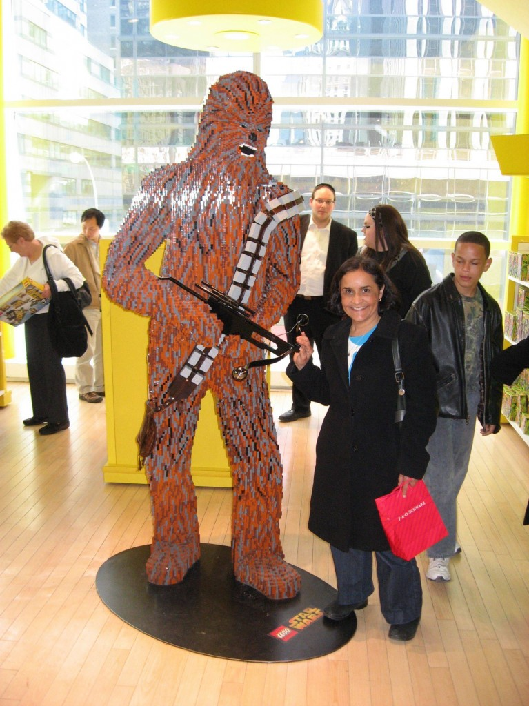 Life Size LEGO Star Wars Chewbacca