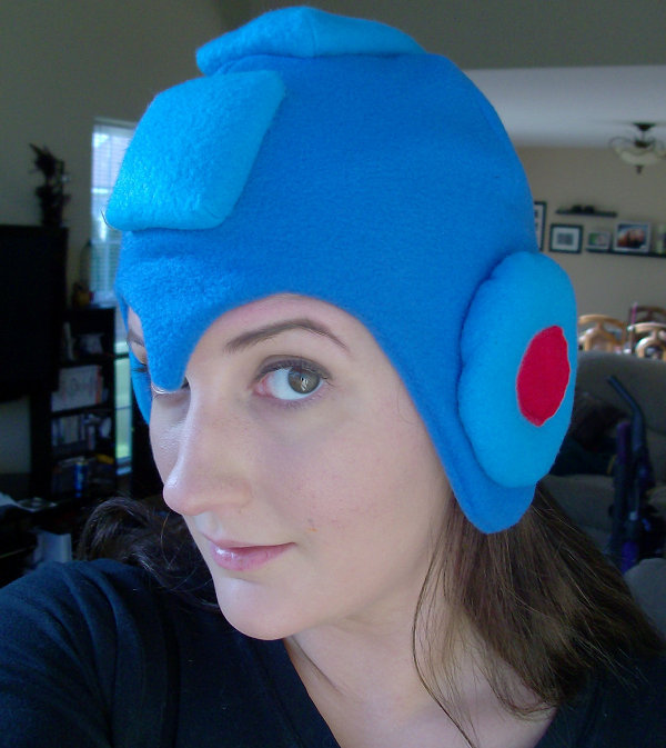 Mega Man Fleece Hat