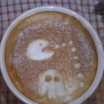 Pac-Man Latte Art [pic]