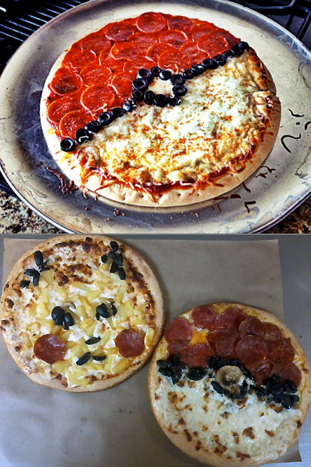 Pokemon Pizzas