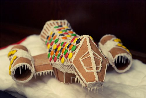 Serenity Gingerbread Ship