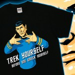 Spock Trek Yourself T-Shirt [pic]