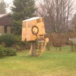 Star Wars AT-ST Treehouse [pic]