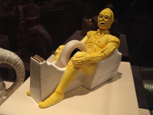 Star Wars C-3PO Tape Dispenser