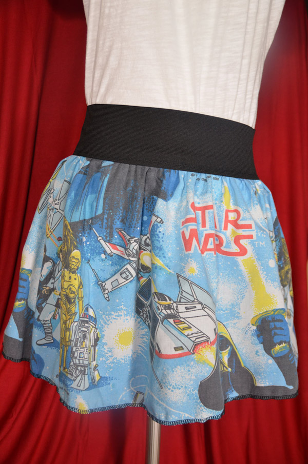 Star Wars Skirt Made From Sheets
