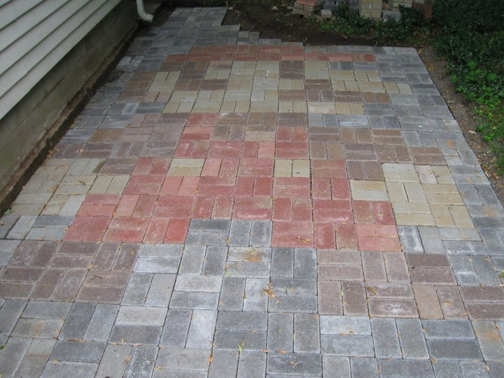 Super Mario Bros Brick Patio