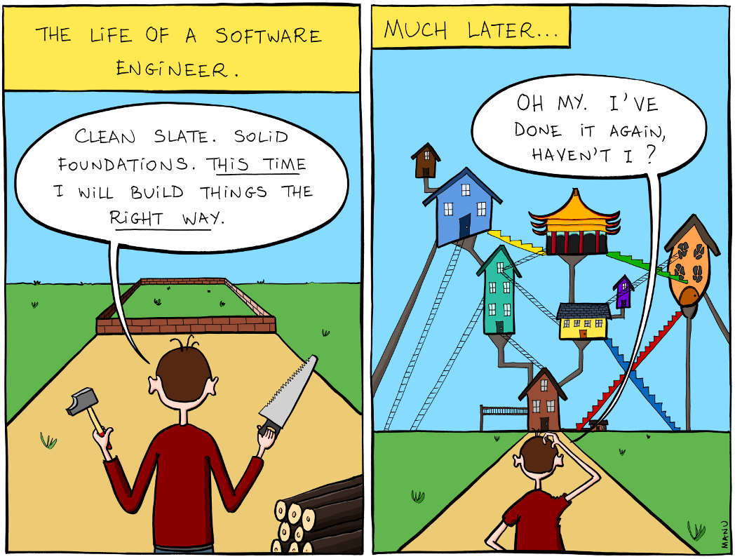 The Life of a Software Engineer by Manu