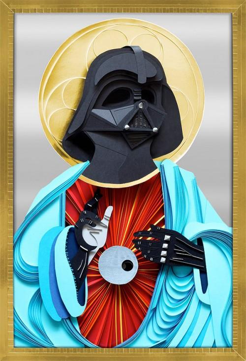 3D Papercraft Darth Vader