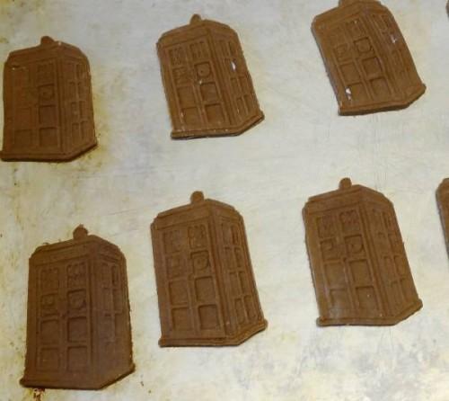 3D Printed TARDIS Cookies