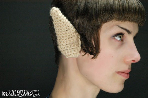 Crochet Vulcan Ears