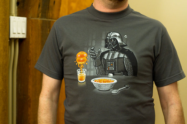 Darth Vader Imperial Breakfast T-Shirt