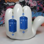 Doctor Who TARDIS Earrings [pic]