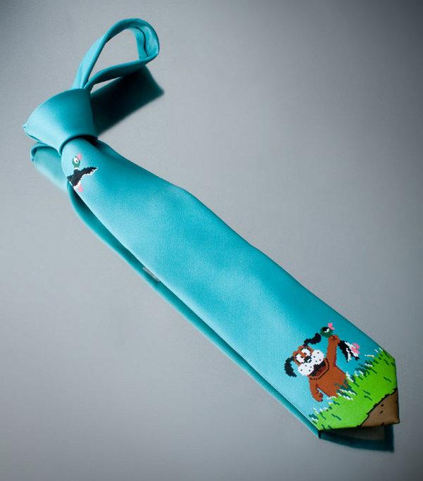 Duck Hunt Tie