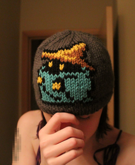 Final Fantasy Black Mage Beanie Hat