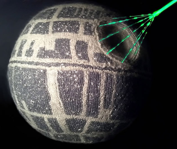 Knit Star Wars Death Star