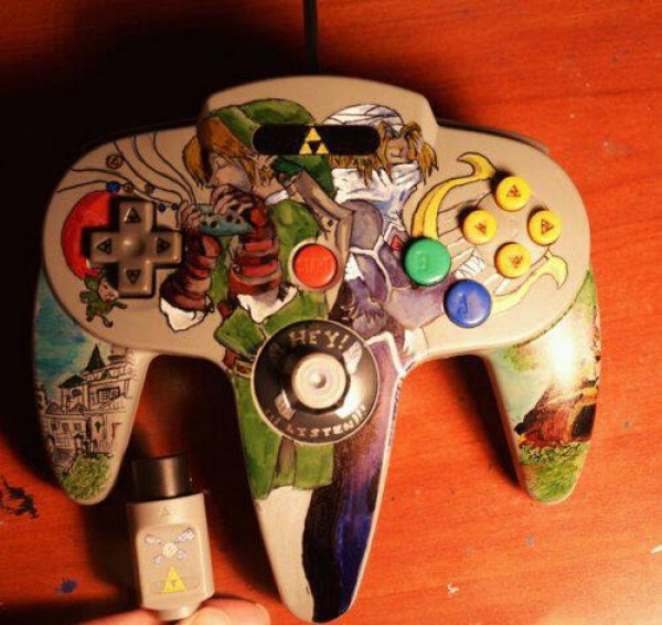 Legend of Zelda Nintendo 64 Controller
