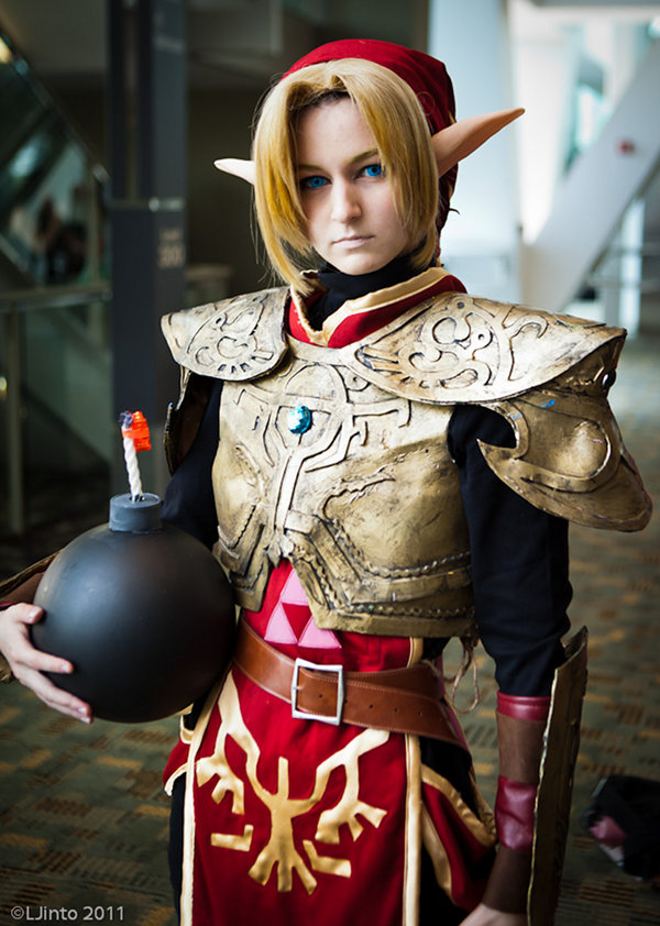 Legend of Zelda Twilight Princess Magic Armor Cosplay