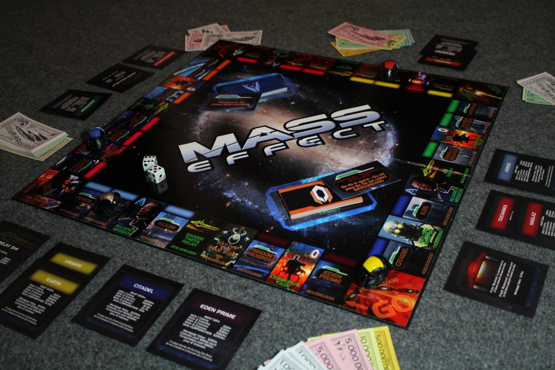 Mass Effect Monopoly Game by Tommyfilth