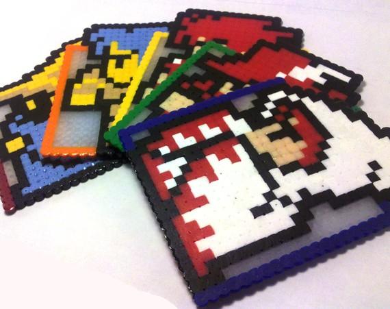 NES Final Fantasy Coasters