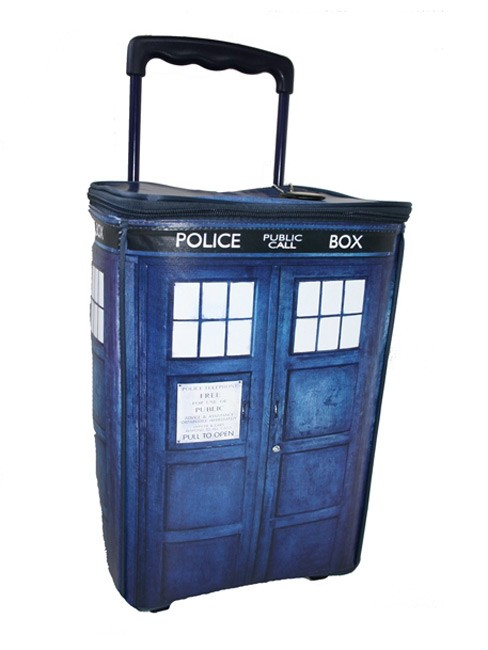 TARDIS Rolling Luggage