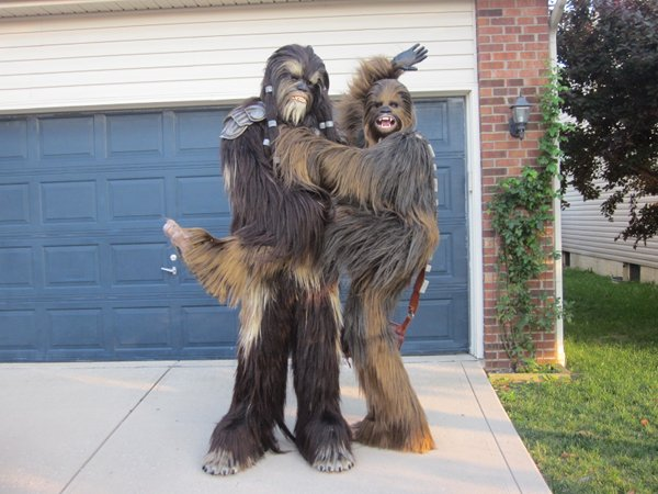 Tarfful and Chewbacca Cosplay
