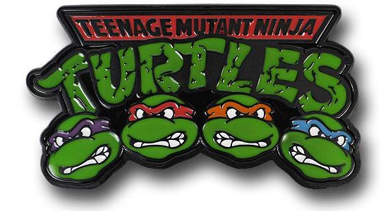 Teenage Mutant Ninja Turtle Belt Buckle