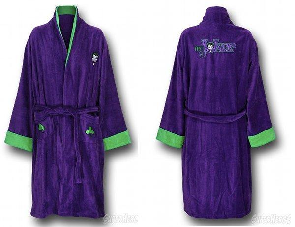 The Joker Terry Cloth Robe