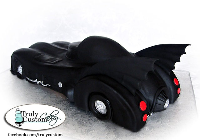 Batman Batmobile Cake Batman Batmobile Cake