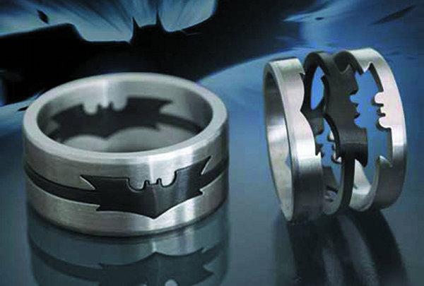 Batman Dark Knight Puzzle Ring