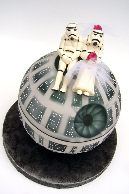 Star Wars Death Star Wedding Cake Pic Global Geek News
