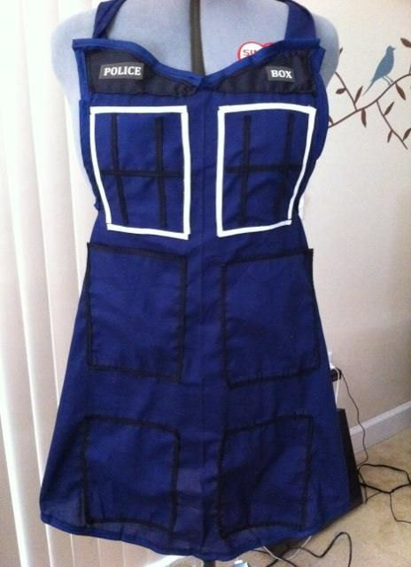 Doctor Who TARDIS Cooking Apron