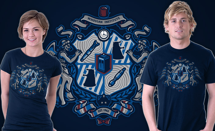 Doctor Who Whovian Crest T-Shirt
