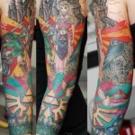 Amazing Legend of Zelda Sleeve Tattoo [pic]