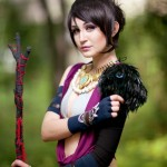 Morrigan from Dragon Age Cosplay [pic]