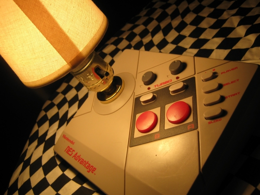 Nintendo NES Advantage Joystick Desktop Lamp