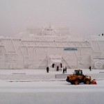 53-Foot Tall Optimus Prime Snow Sculpture [pic]