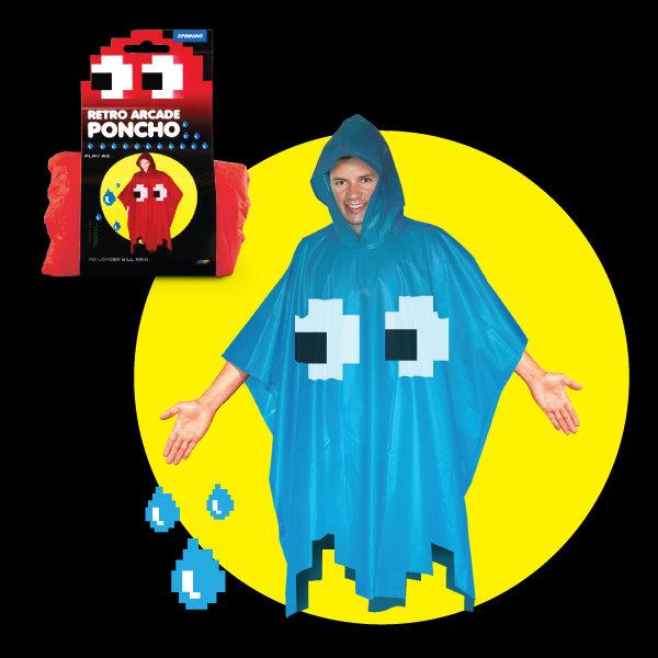 Pac-Man Rain Poncho