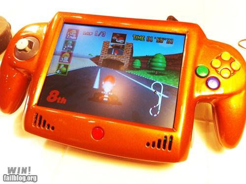 Portable Nintendo 64 Handheld