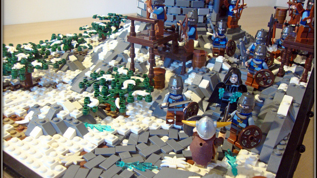 Skyrim Recreated with LEGO Bricks