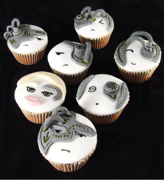 Star Trek Borg Cupcakes