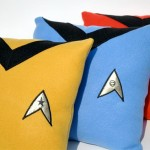Star Trek TOS Uniform Pillows [pic]