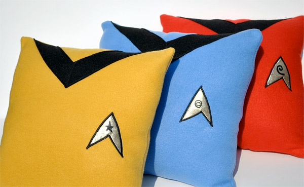 Star Trek The Original Series Uniform Pillows