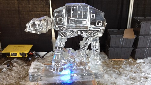 Star Wars AT-AT Ice Sculpture