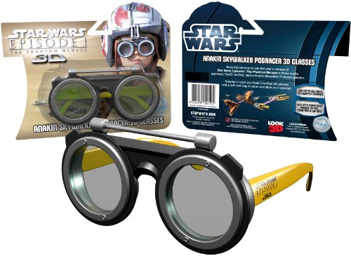 Star Wars Episode I The Phantom Menace 3D Glasses