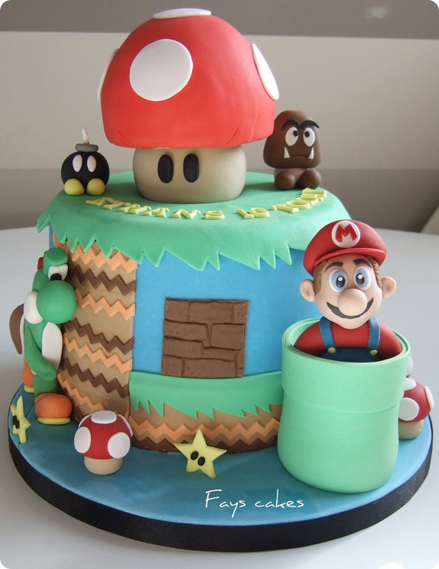 Awesome Bday Cake Images : Awesome Super Mario World Birthday Cake [pics] - Global ...