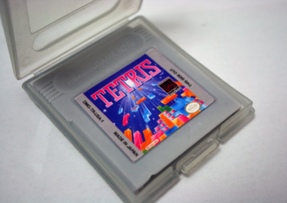 Tetris Game Boy Cartridge Bar of Soap