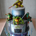 Amazing Teenage Mutant Ninja Turtle Cake [pic]